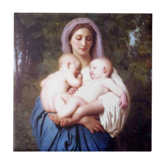 William Bouguereau_Charity(1878) Ceramic Tile