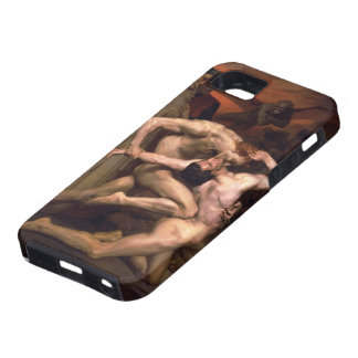 William Bouguereau- Dante and Virgil in Hell iPhone 5 Cases