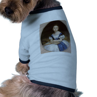 William Bouguereau- Portrait of Mlle Brissac Pet Tee Shirt