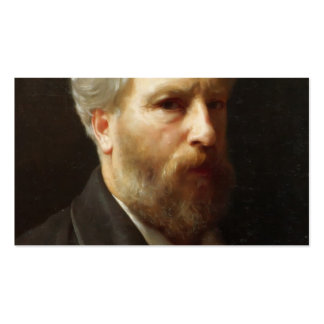 William Bouguereau- Self-Portrait Presented Business Card Templates
