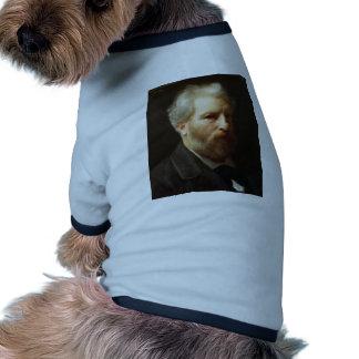 William Bouguereau- Self-Portrait Presented Dog Clothing