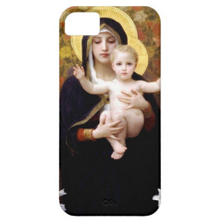 William Bouguereau- The Madonna of the Lilies iPhone SE/5/5s Case