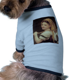 William Bouguereau- The return of the market Doggie T Shirt