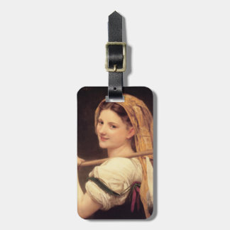 William Bouguereau- The return of the market Bag Tags