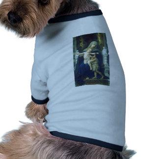 William Bouguereau-The Virgin, Jesus & St John Pet Clothing