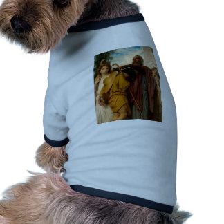 William Bouguereau- Tobias Receives Blessing Pet Tee Shirt