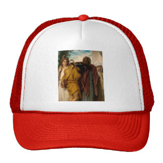 William Bouguereau- Tobias Receives Blessing Trucker Hats