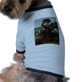 William Bouguereau- Washerwomen of Fouesnant Pet Clothing