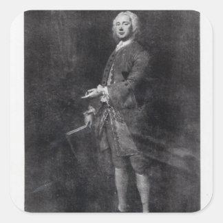 William Boyce Pegatina Cuadrada