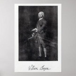 William Boyce Póster