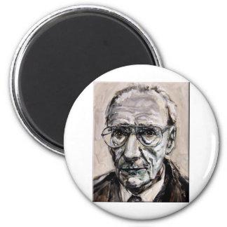William Burroughs 2 Inch Round Magnet