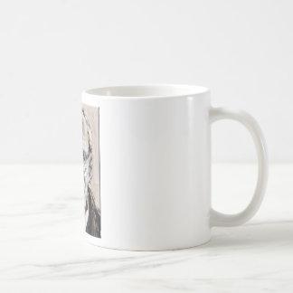 William Burroughs Classic White Coffee Mug