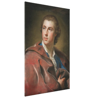 William Burton Conyngham by Anton Raphael Mengs Canvas Print