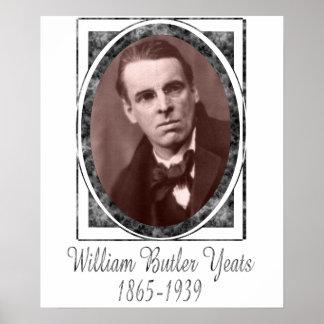 William Butler Yeats Poster