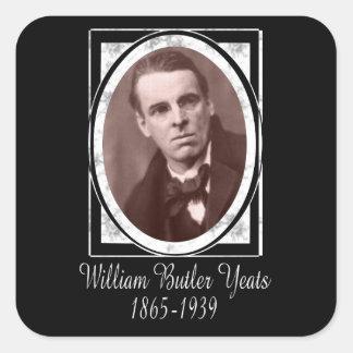 William Butler Yeats Square Sticker