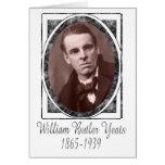 William Butler Yeats Tarjeton