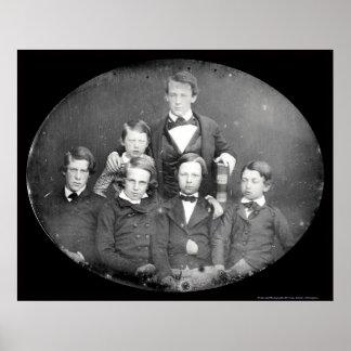 William Cassiday Cattell Daguerreotype 1848 Posters