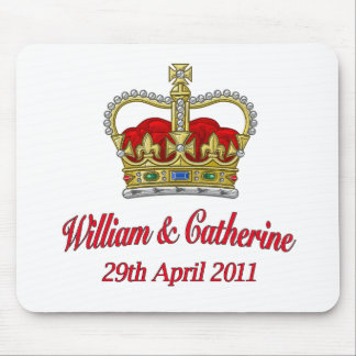 William & Catherine 29th April 2011 Mouse Pad