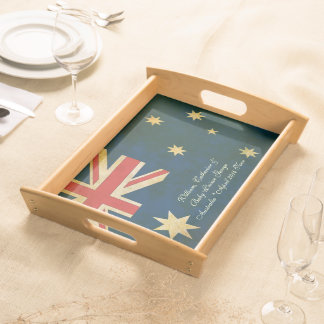 William Catherine & Baby George Australia 2014 Serving Platters