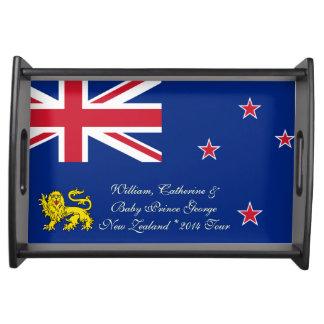 William Catherine & Baby George New Zealand 2014 Food Trays