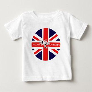 William & Catherine Baby T-Shirt