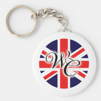 William & Catherine Keychain