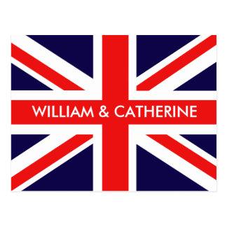 William & Catherine Postcard
