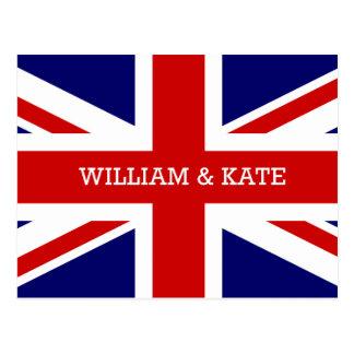 William & Catherine | The Royal Wedding Postcard