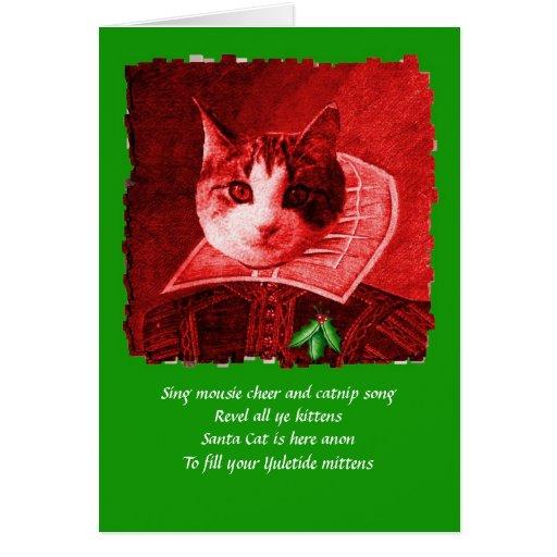 william catspeare christmas card