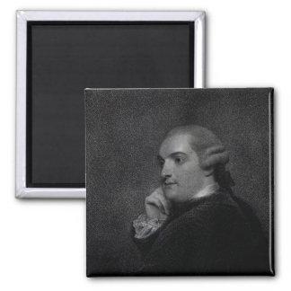 William Cavendish- Bentinck 2 Inch Square Magnet