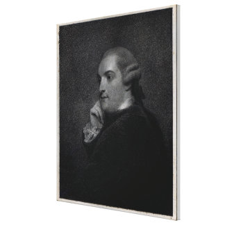 William Cavendish- Bentinck Canvas Print