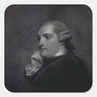 William Cavendish- Bentinck Square Sticker