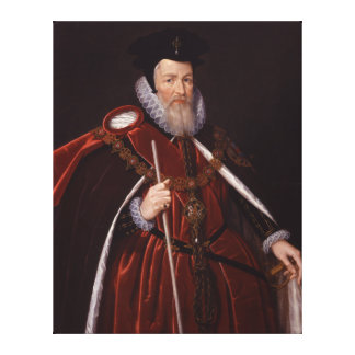 William Cecil 1st Baron Burghley Stretched Canvas Prints