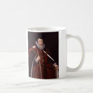 William Cecil 1st Baron Burghley Coffee Mug