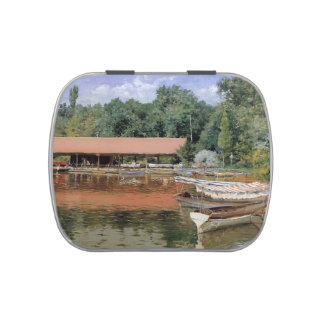 William Chase- Boat House, Prospect Park Jelly Belly Candy Tins