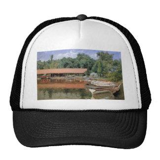 William Chase- Boat House, Prospect Park Trucker Hat