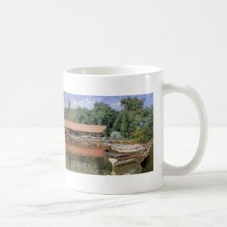 William Chase- Boat House, Prospect Park Coffee Mug