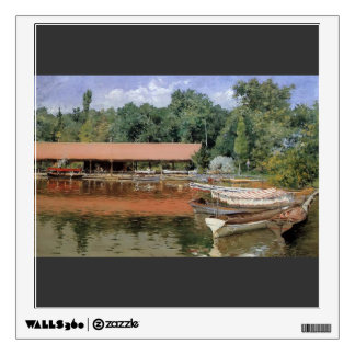 William Chase- Boat House, Prospect Park Wall Decal