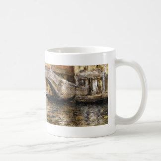 William Chase- Gondolas along Venetian Canal Classic White Coffee Mug