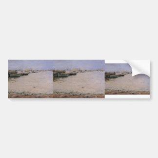 William Chase- Gowanus Bay Car Bumper Sticker