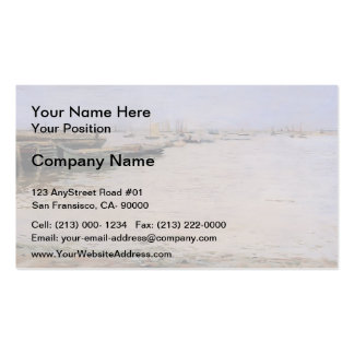 William Chase- Gowanus Bay Business Card