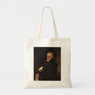 William Chase- Portrait of James Whitcomb Riley Tote Bag