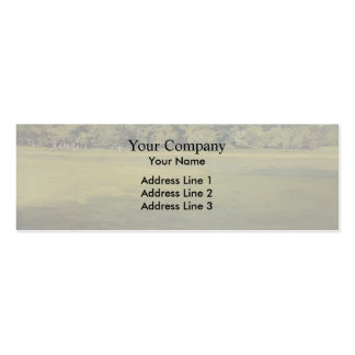 William Chase- Prospect Park Double-Sided Mini Business Cards (Pack Of 20)
