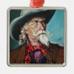 William Cody by James J. Froese Christmas Tree Ornament