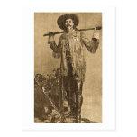 William Cody - Frontiersman (Sepia) Postcard