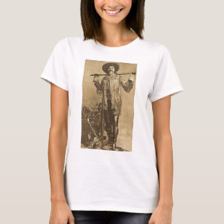 William Cody - Frontiersman (Sepia) T-Shirt