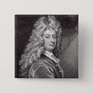 William Congreve  engraved by P.W.Tomkins Button