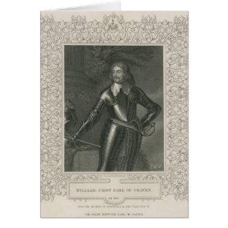 William Craven, 1st Earl of Craven Card