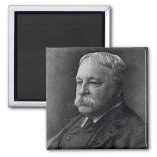 William D. Howells  from Literature 2 Inch Square Magnet