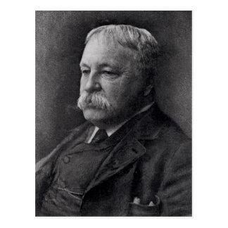 William D. Howells  from Literature Postcard